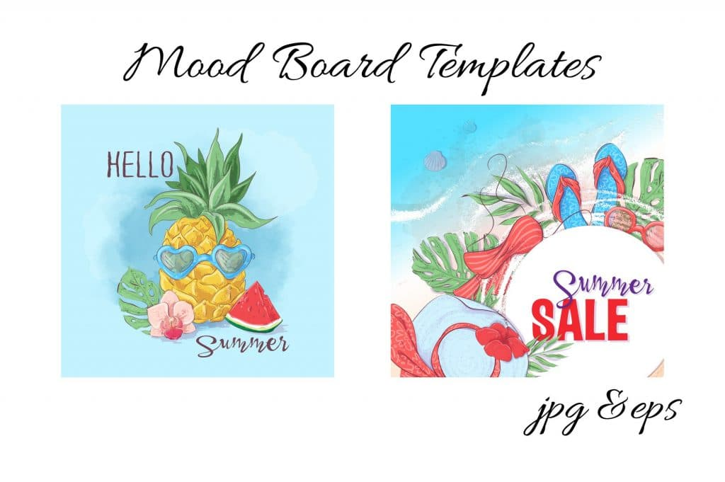 Summer Time Clipart - 38 Individual Elements - 7 1