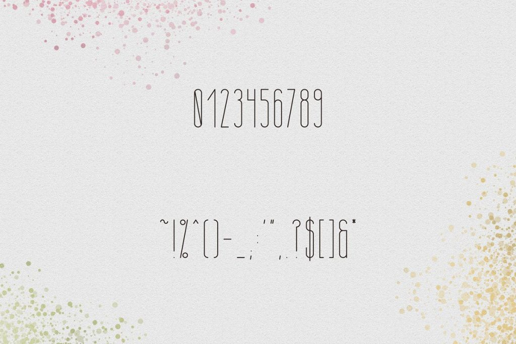 April Display Font - $11 ONLY - 8