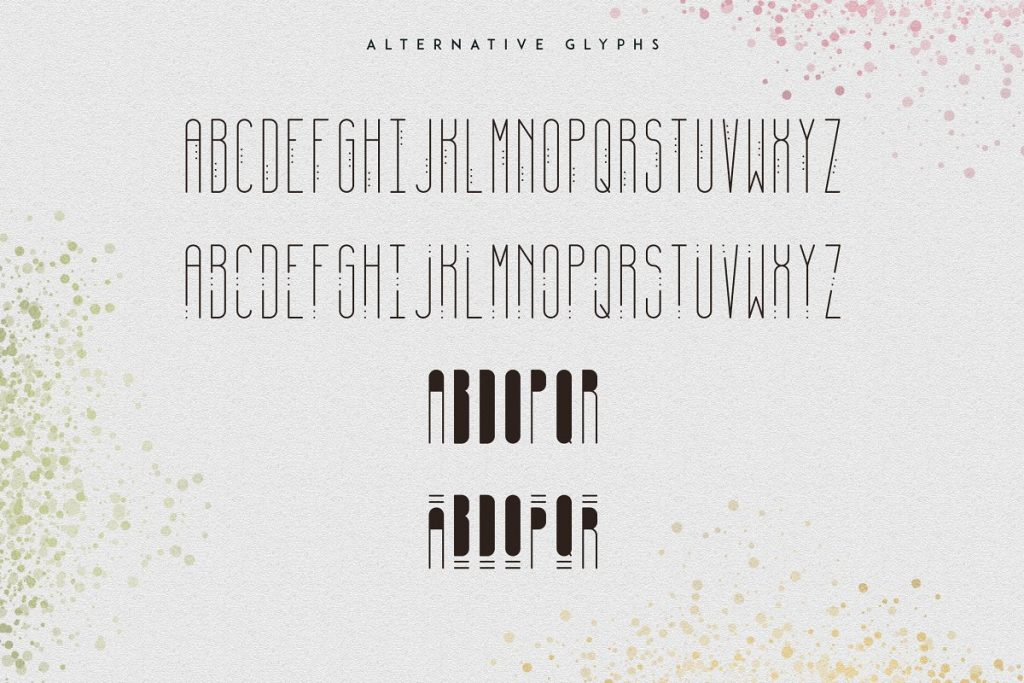 April Display Font - $11 ONLY - 9
