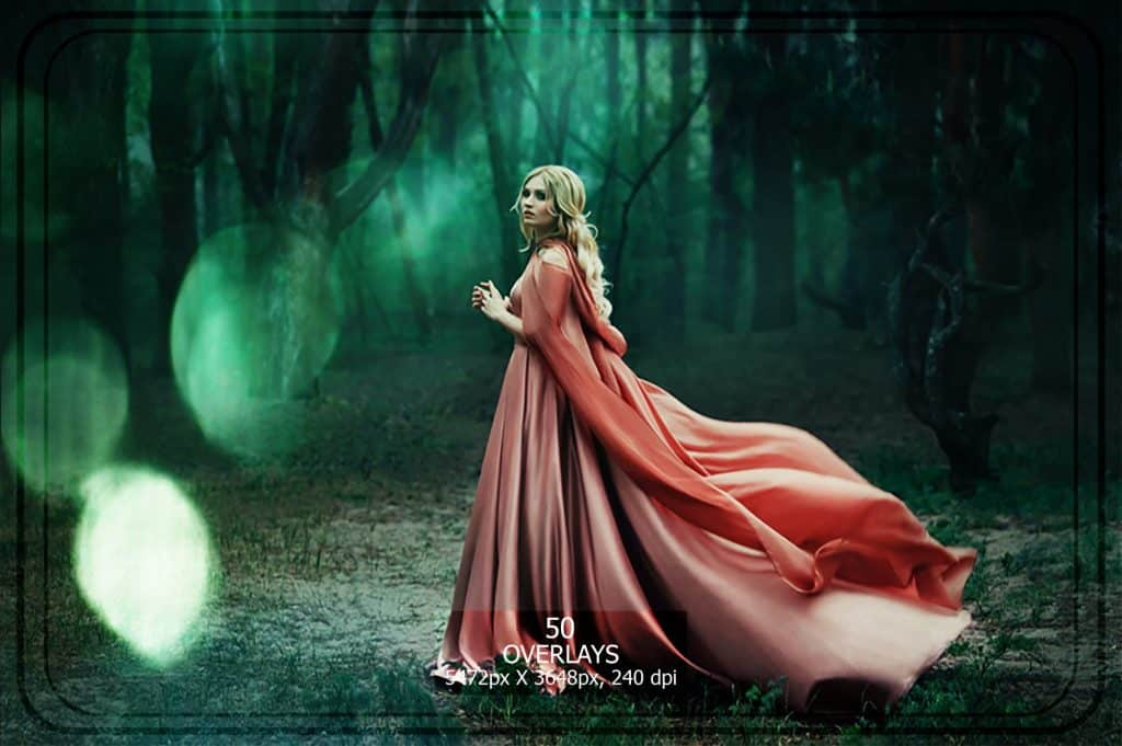 3265 Sparkles png Overlays [27 Gb] - Bokeh Set Light Green copy min