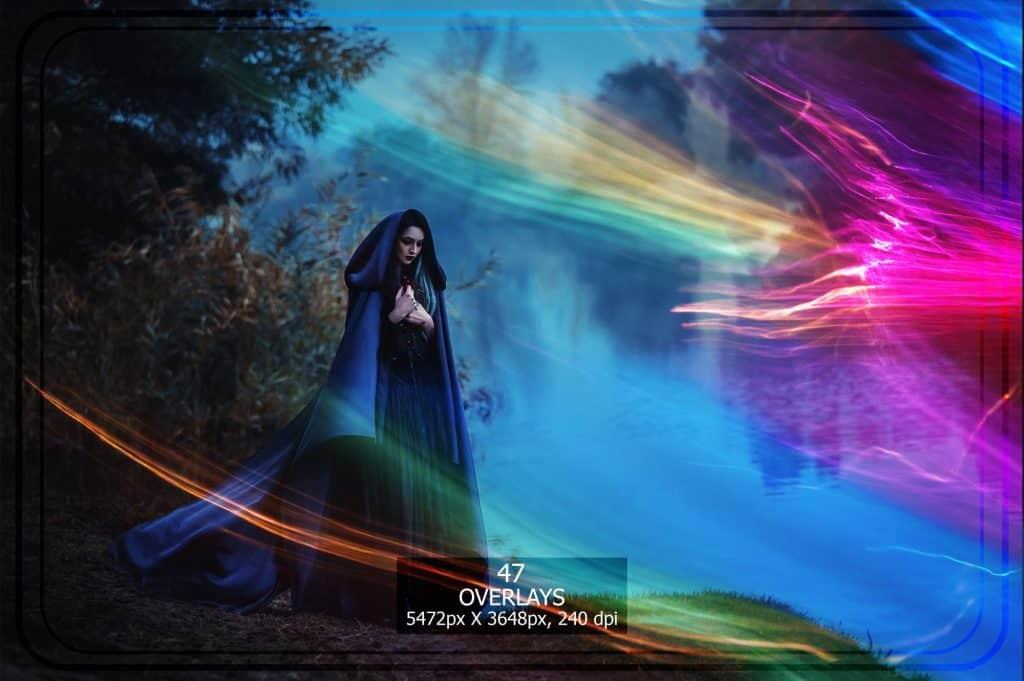 3265 Sparkles png Overlays [27 Gb] - Bokeh Trails VOl. 2 copy min