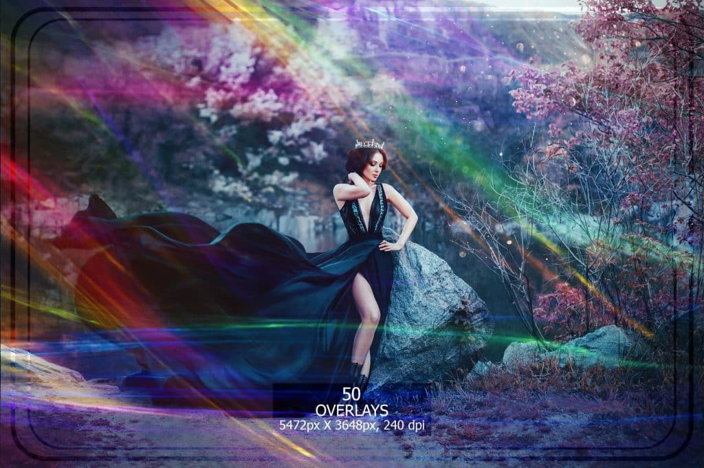 3265 Sparkles png Overlays [27 Gb] - Bokeh Trails Vol. 1 copy min