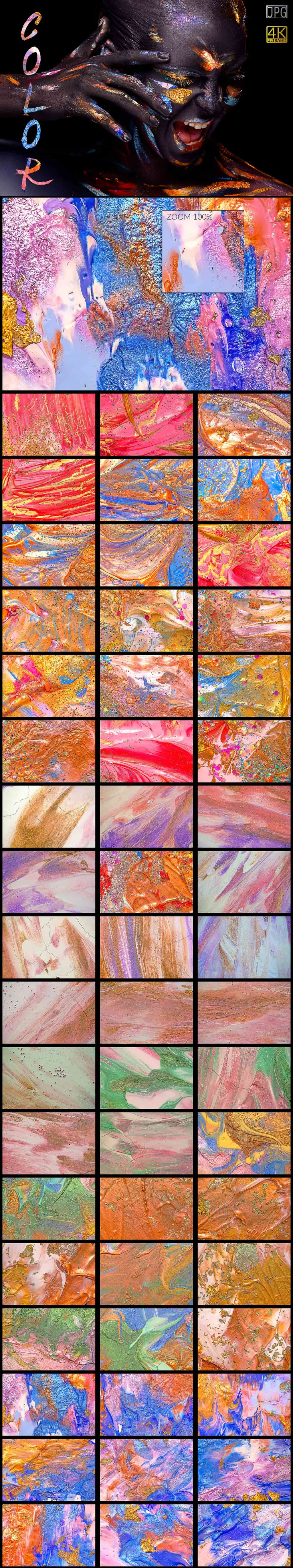 7662 Colorful Backgrounds Collection JPG - Colors min