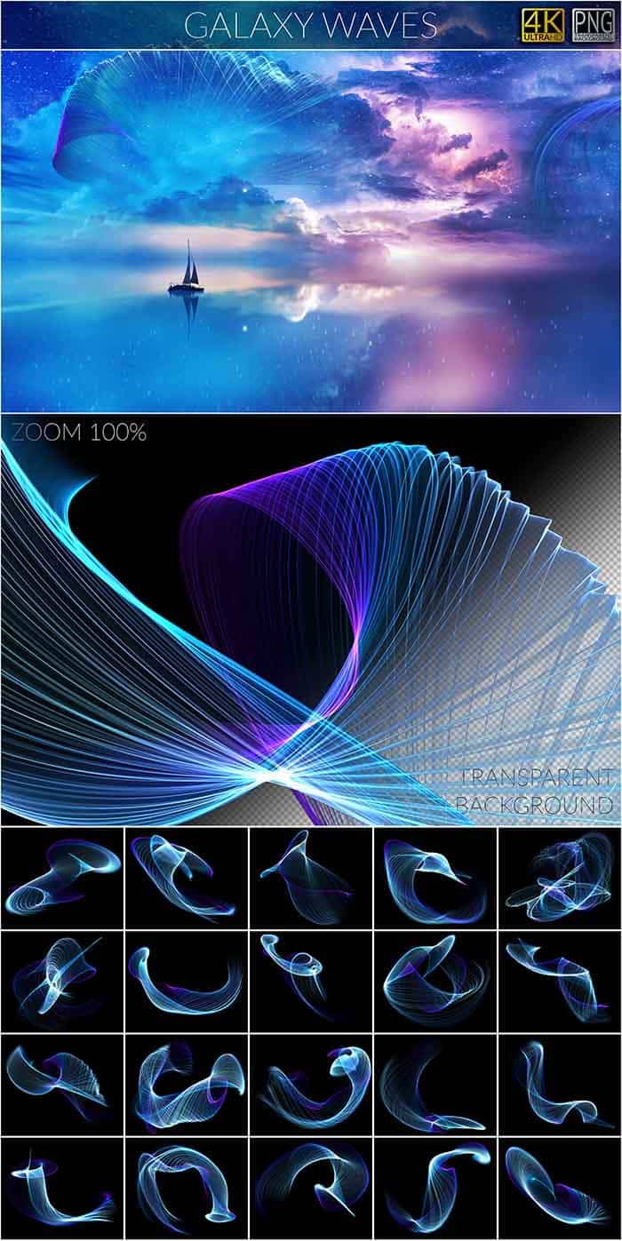 1200 Magic & Myth Overlays - Magic Myth GalaxyWaves copy
