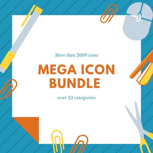 Mega Icon Bundle: 2000 icons - Mega Icon Bundle 490x490