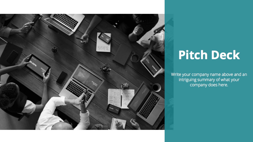 Clean Style Pitch Deck Template 2020: Powerpoint, Google Slides, Keynote - Screen Shot 2020 04 08 at 16.23.54