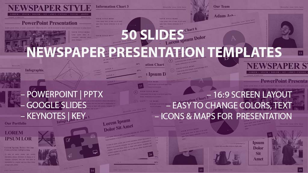 5 Free Newspaper Google Slides Template In 2020 - Untitled 1