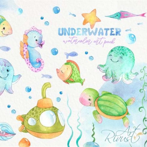 Underwater PNG Clipart Collection 2020 - Untitled 4 490x490