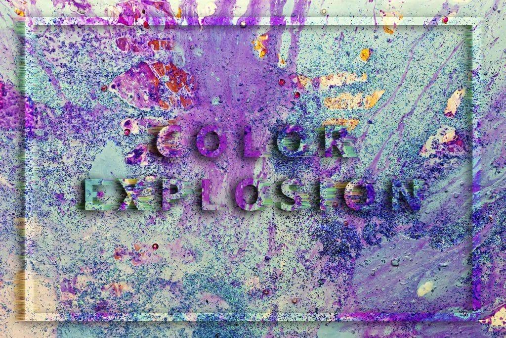 240  Handmade Acrylic Backgrounds | Vibrant Explosive Acrylics - Vol. 2 min