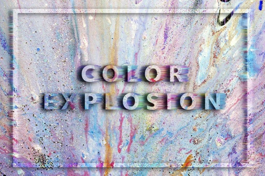 240  Handmade Acrylic Backgrounds | Vibrant Explosive Acrylics - Vol. 3 min