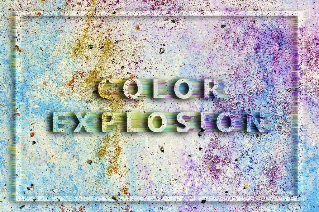 240  Handmade Acrylic Backgrounds | Vibrant Explosive Acrylics - Vol. 5 min