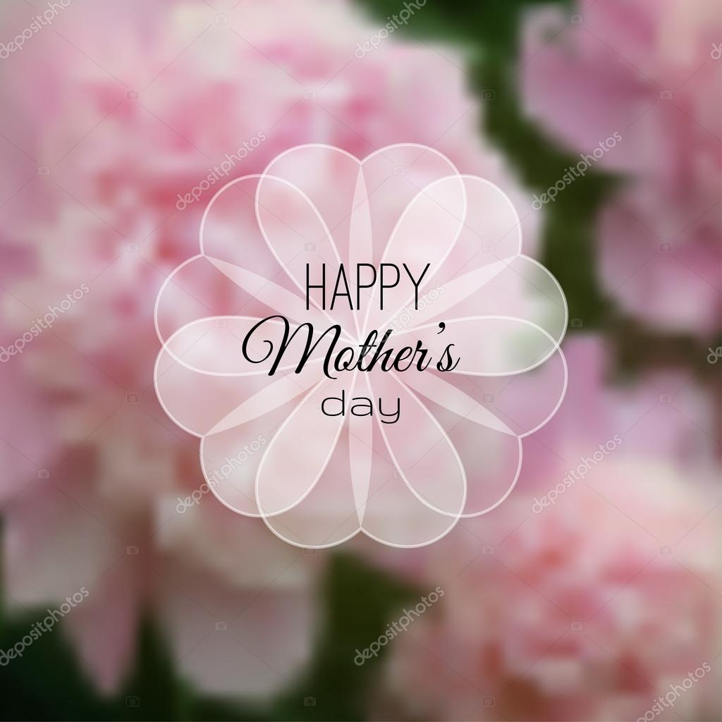 Mother's Day Photo & Clipart Collection - 100 photos - depositphotos 73227437 stock illustration happy mothers day card on