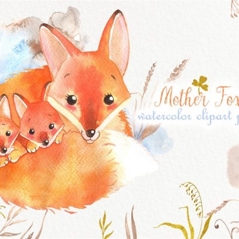 Watercolor Bunny and Mom: Mother's Day Designs with Rabbits + Bonus PNG - il 794xN.1931126877 ti92 490x490