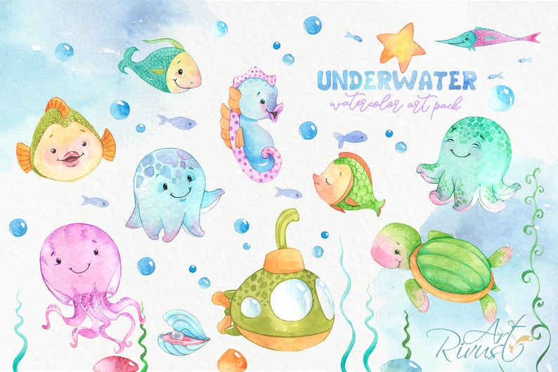Underwater PNG Clipart Collection 2020 - il 794xN.2098717713 h1rr