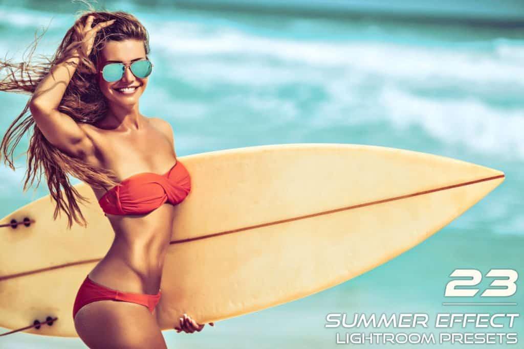 23 Summer Effect Lightroom Presets - main