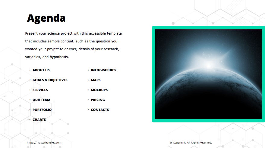 Free Google Slides Theme Science In 2020 - scientific powerpoint template2