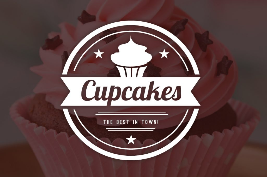 15 Vintage Bakery Logos: Cupcakes & Cakes Logos - 01 2
