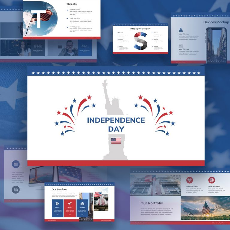 60+ American Flag Vector Products For Your Design Project 2021