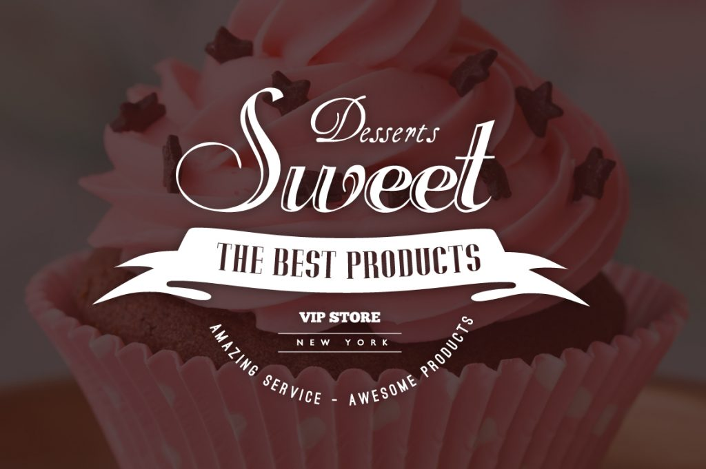 15 Vintage Bakery Logos: Cupcakes & Cakes Logos - 02 2