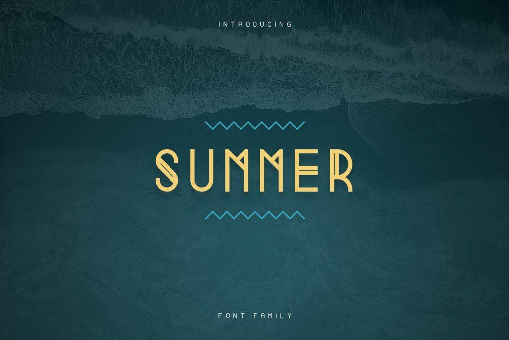 Casual Summer Font