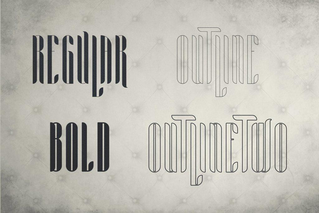 Noe Display Font Alternative - Aria Font Family -70% - 2 3