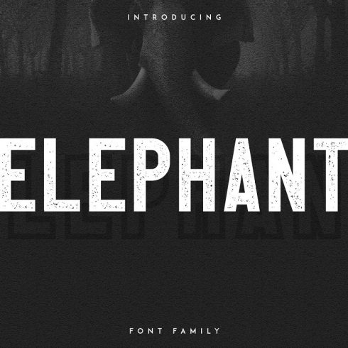 Elephant Font Family: Family Matters Fonts- 50% - 600 20 490x490