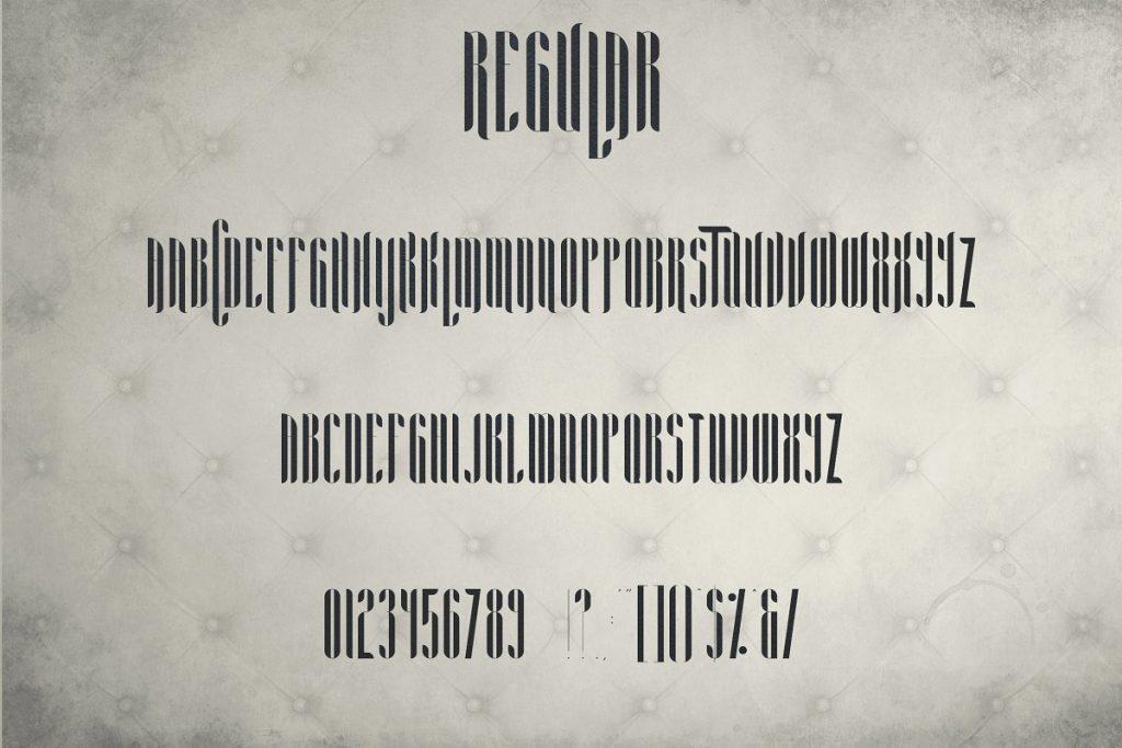 Noe Display Font Alternative - Aria Font Family -70% - 8 2