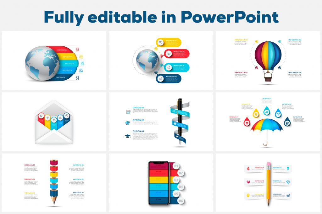 Best Powerpoint Infographics: 36 Animated Realistic Infographic Presentations - Realistic powerpoint infographic 04