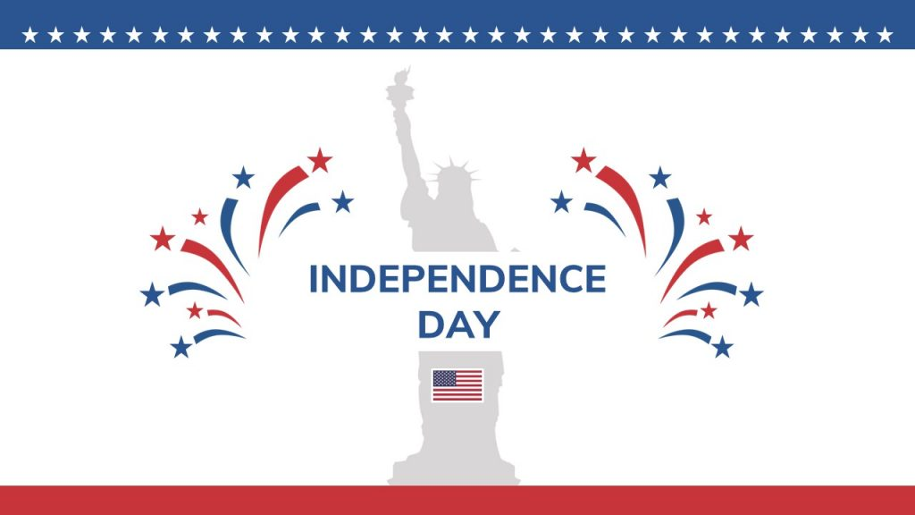 Free Independence Day Google Slides Theme: 8 Slides - Slide1 2