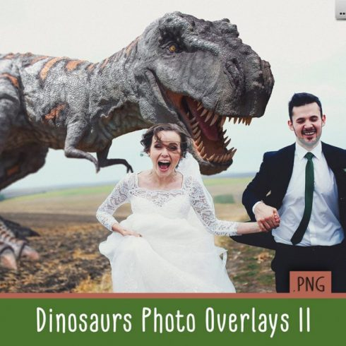 Dinosaur Overlay Bundle: 34 PNG Photo Overlays 🐍 - Untitled 1 490x490
