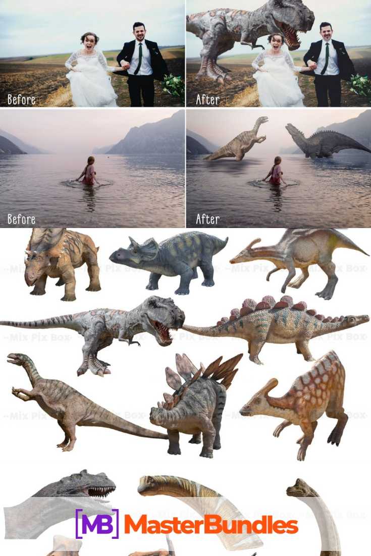 Dinosaur Overlay Bundle. Pinterest.