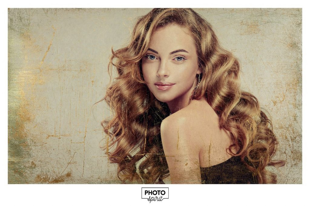 Golden Patina Photo Effect for Photoshop - golden patina photo effect 5