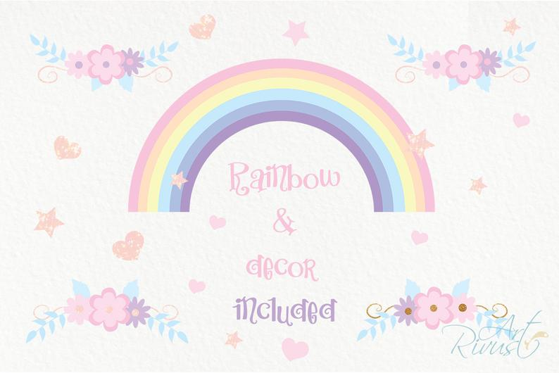Unicorn Clipart PNG 2020: Cute Magic Birthday Party Graphic - il 794xN.2177580079 jyli