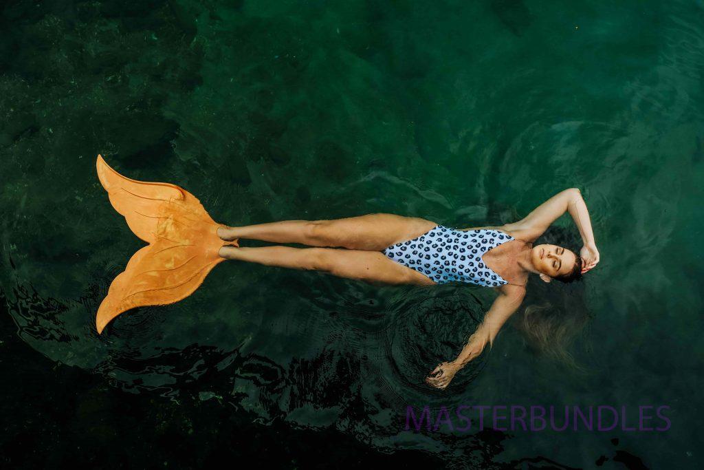 50+ Handpicked Mermaid Clipart 2020: Mermaid Tail Clipart, Vectors, Watercolors - mermaid3 min copy