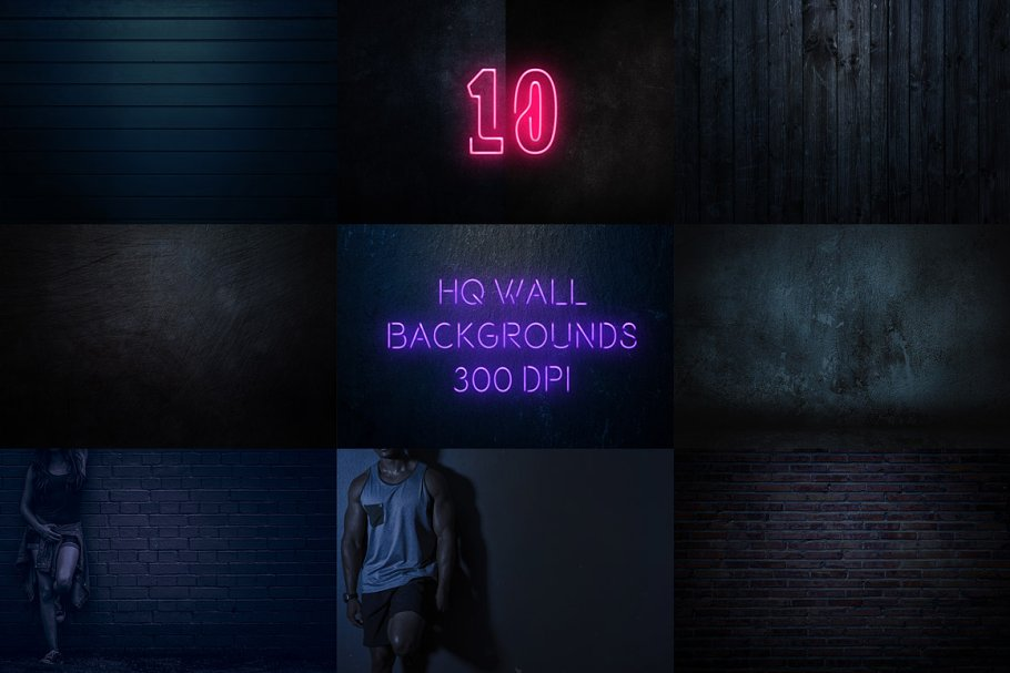 Neon Blue Text Unturned Layer Styles - neon text layer style pack 3