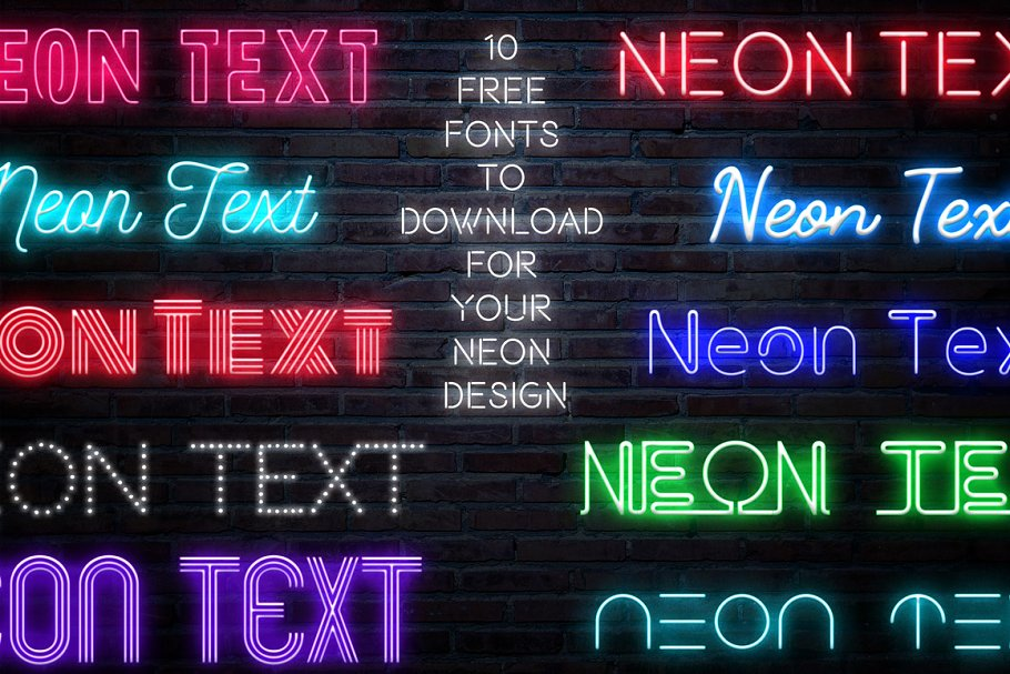 Neon Blue Text Unturned Layer Styles - neon text layer style pack 5