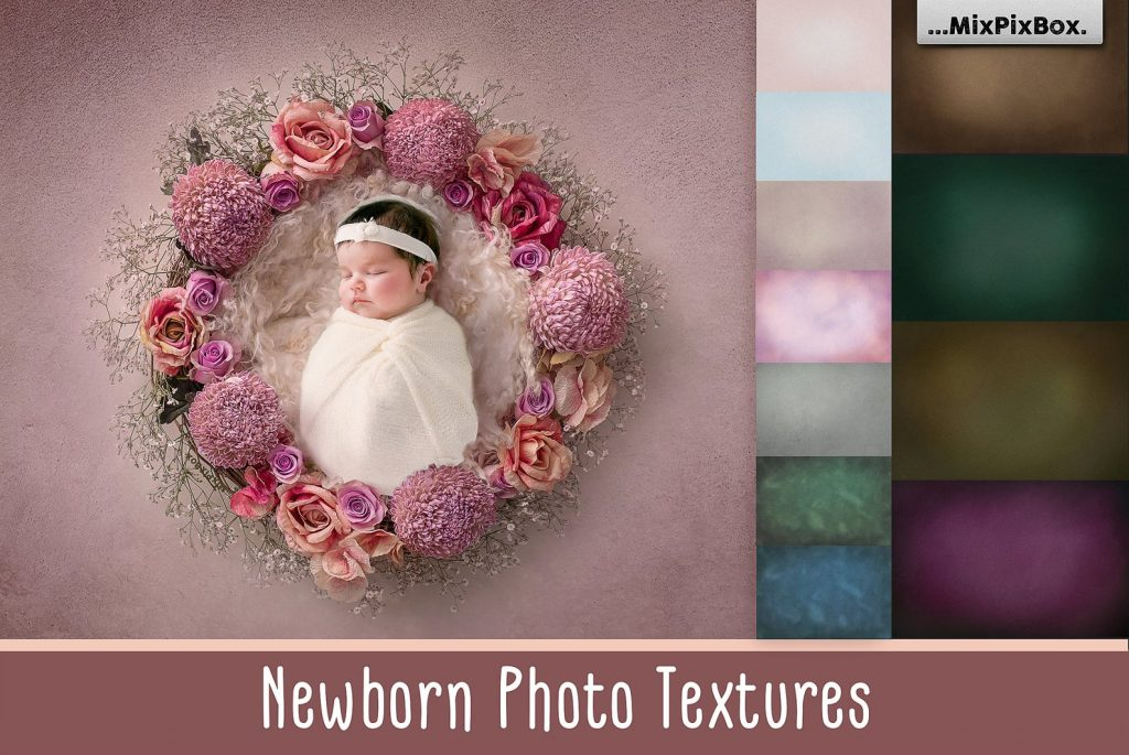 42 Newborn Photography Textures 2020 - newborn textures first image
