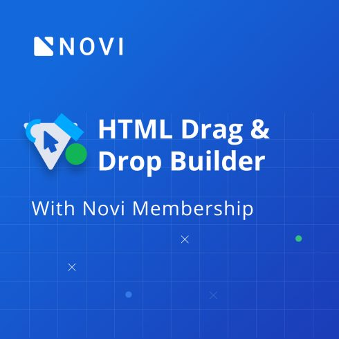 Novi Builder Membership Deal 2020: HTML Drag And Drop Builder With 41% OFF - novi builder promo code 2020 490x490