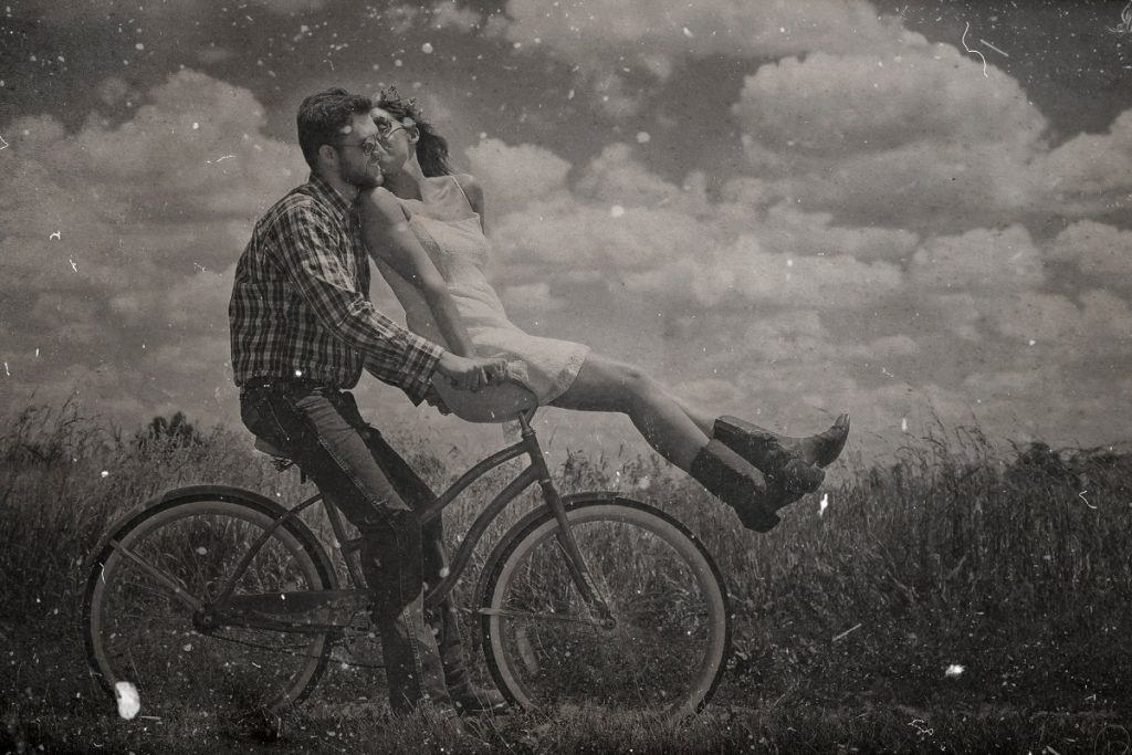 Dust And Scratches Film Effect Photoshop Addons - vintage dust photo effect 4