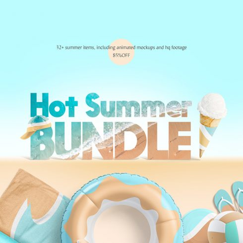 Hot Summer Mockups Bundle - 1 6 490x490