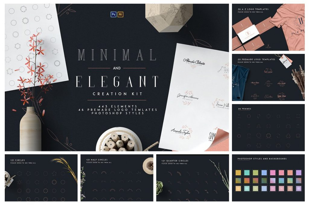 BIG Graphic Collection: 22 in 1 with 4,000+ elements - 10 1 1
