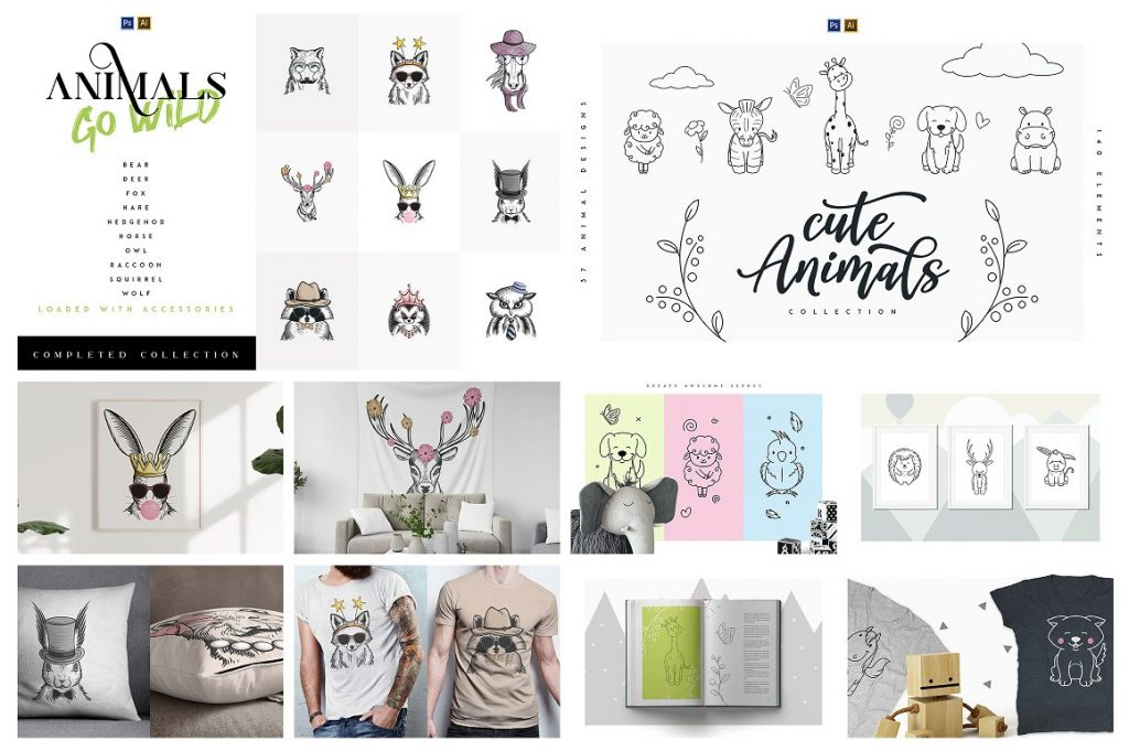 BIG Graphic Collection: 22 in 1 with 4,000+ elements - 13