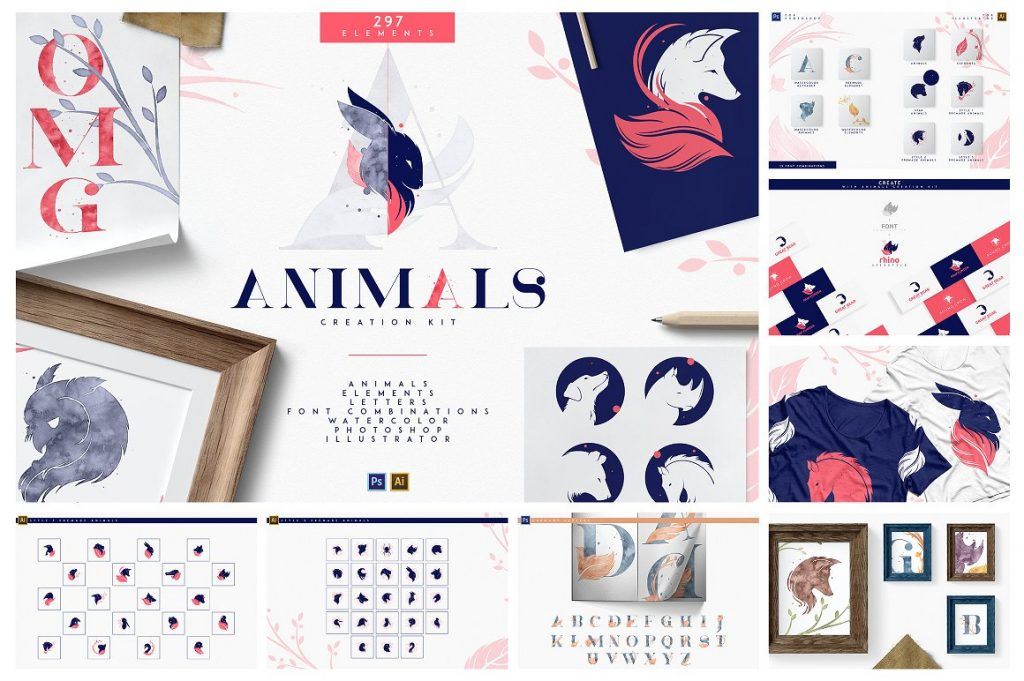 BIG Graphic Collection: 22 in 1 with 4,000+ elements - 2 1 1