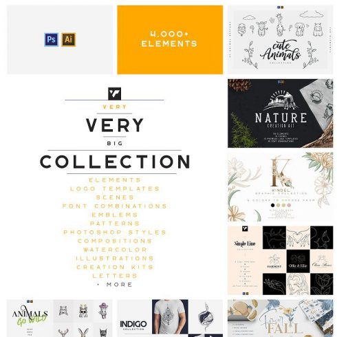 Cyber Monday Bundle: 16 Creative Products for your Designer Toolkit - only $39! - 600 4 490x490