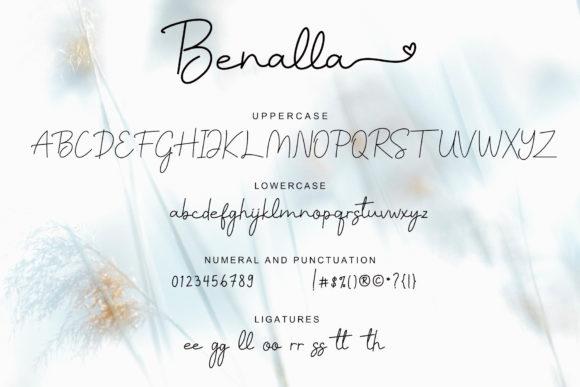 Benalla Lovely Prestige Signature Script - Benalla Fonts 10 580x387