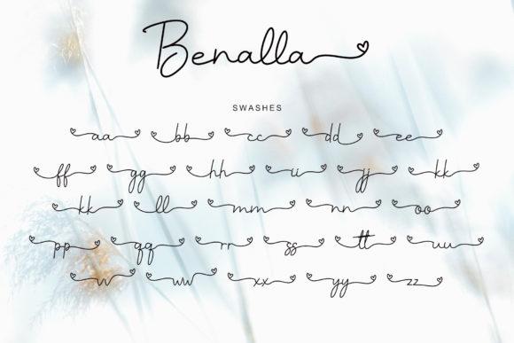 Benalla Lovely Prestige Signature Script - Benalla Fonts 11 580x387
