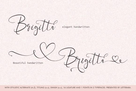 Best Handwritten Sharpie Font 2021 | Brigitta Handwritten Sharpie Font - Brigitta by thomasaradea 1 580x387