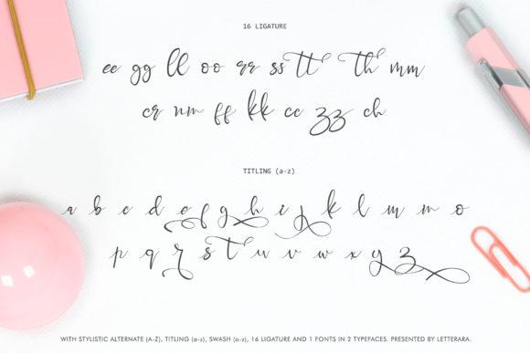 Best Handwritten Sharpie Font 2021 | Brigitta Handwritten Sharpie Font - Brigitta by thomasaradea 8 580x387