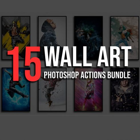 Duotone Bundle: 88 Photoshop Actions - only $22 - Cover Image 600 490x490