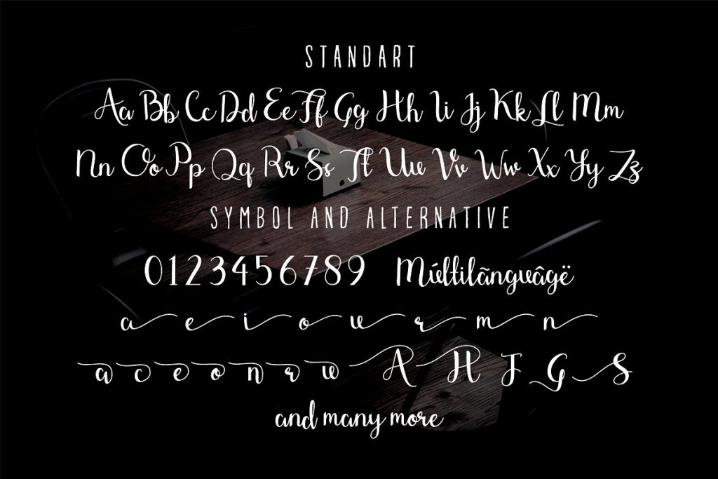 Shefilla Rouge Script Font - artboard 6